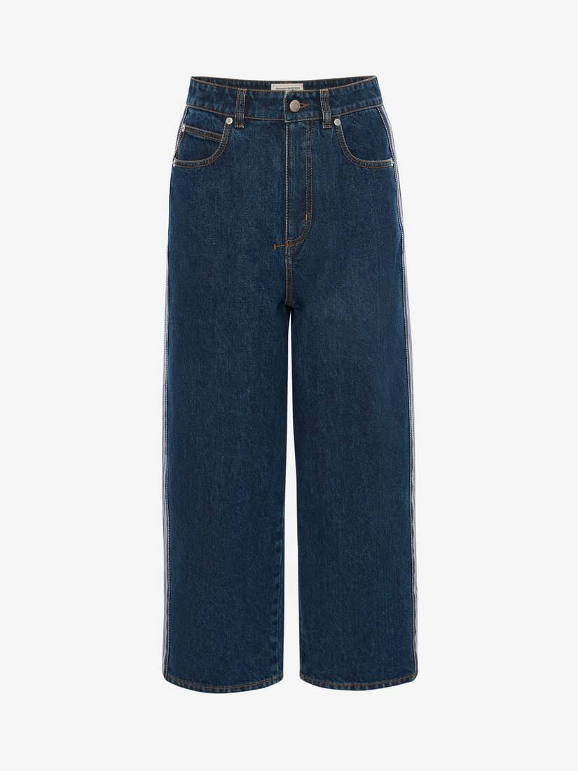 Display a large version of the product image 1 - Boyfriend Denim Trouser