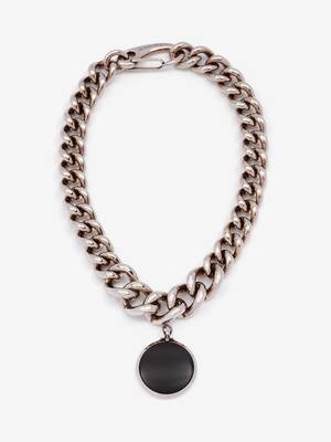 Oversize Chain Hook Necklace