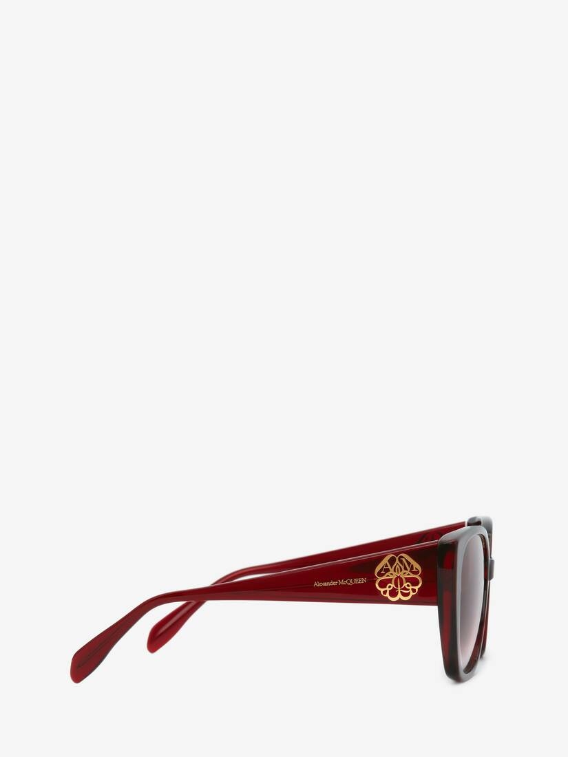 Display a large version of the product image 2 - Seal Logo Square Sunglasses
