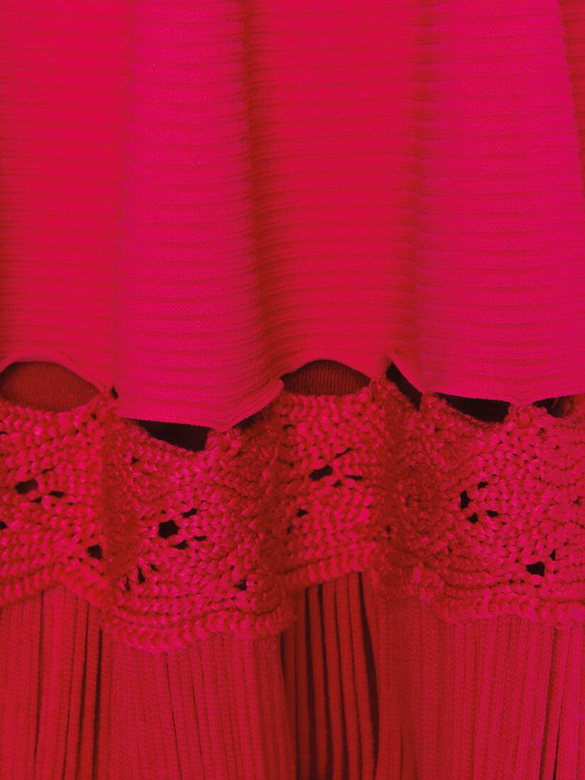Display a large version of the product image 5 - Engineered ribbed Knit Dress