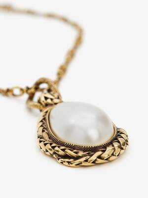 White Stone Necklace