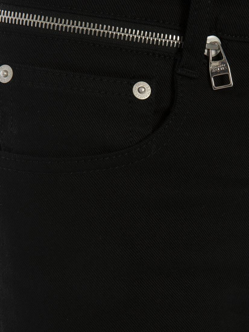 Display a large version of the product image 5 - Zip Detail Jeans