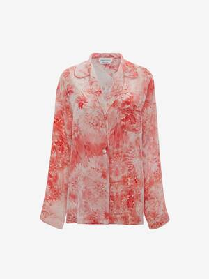 Sea Coral Pyjama Shirt