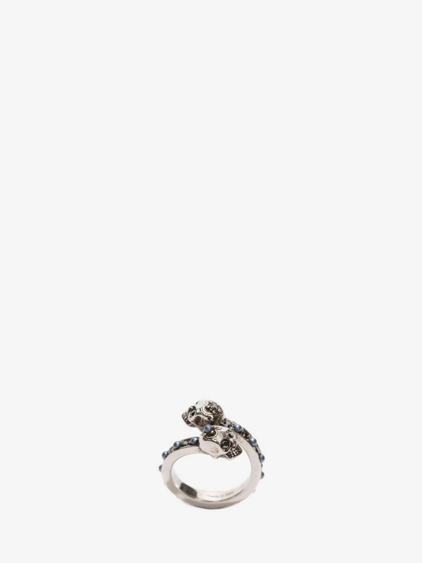 Wrap-Around Skull Ring