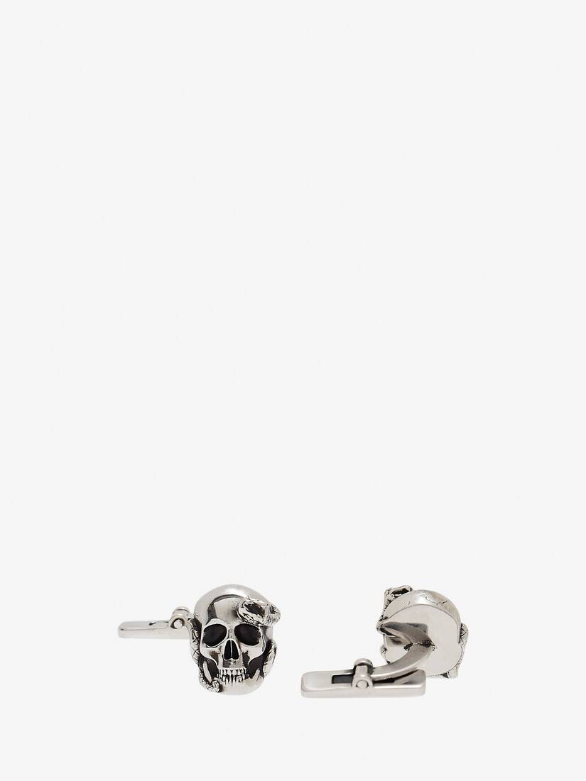 Display a large version of the product image 2 - Skull and Snake Cufflinks