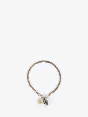 Bracelet Skull pavé