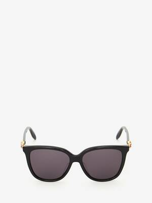 Skull Droplets Acetate Sunglasses