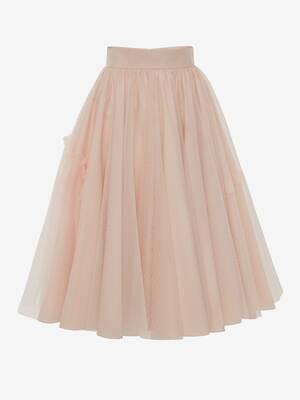 Knee Tulle Skirt