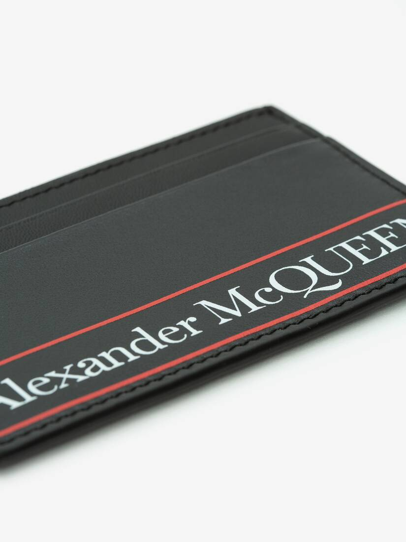Display a large version of the product image 4 - Alexander McQueen Card Holder