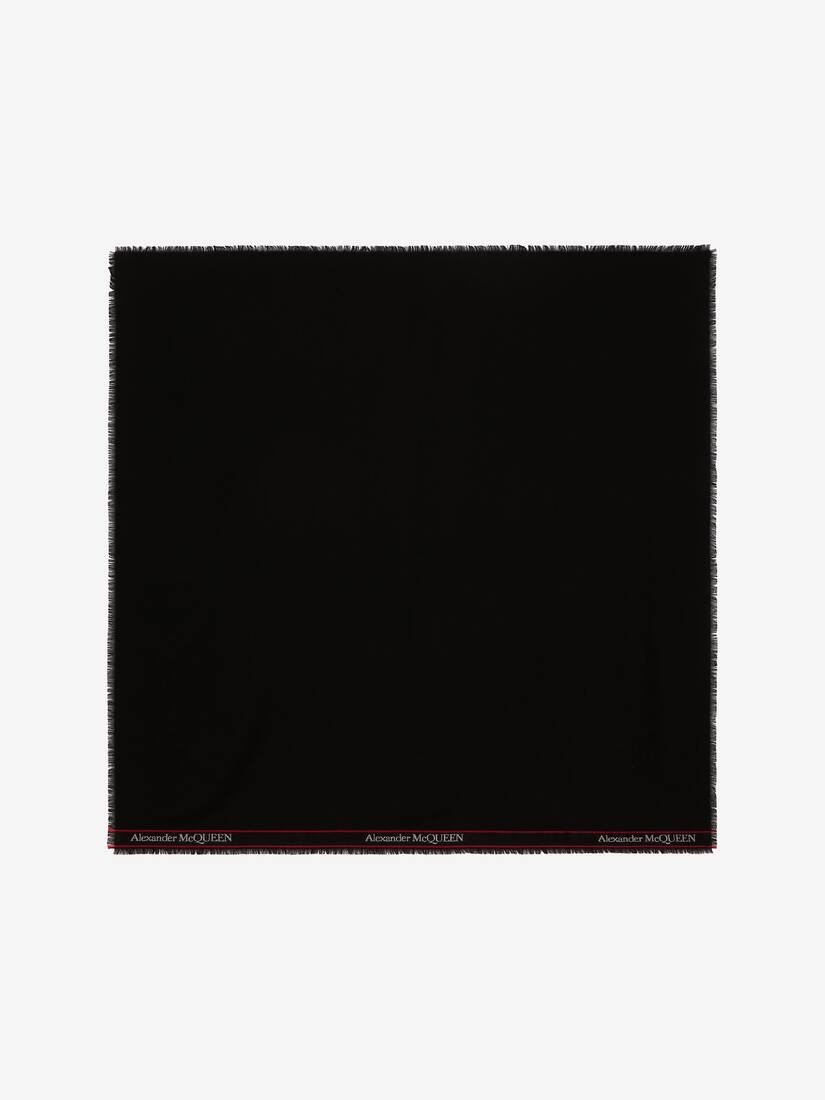 Display a large version of the product image 1 - Alexander McQueen Selvedge Scarf