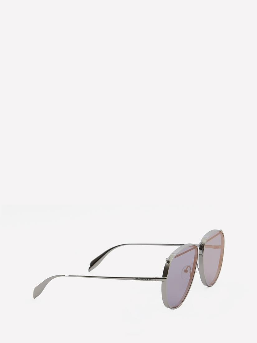 Display a large version of the product image 3 - Piercing Pilot Metal Sunglasses