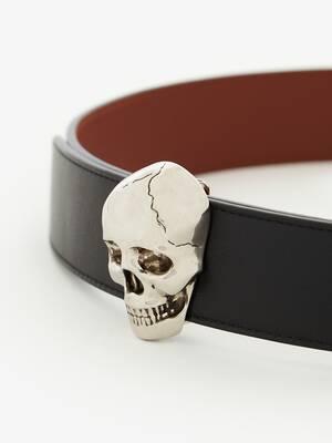 3D Skull Belt