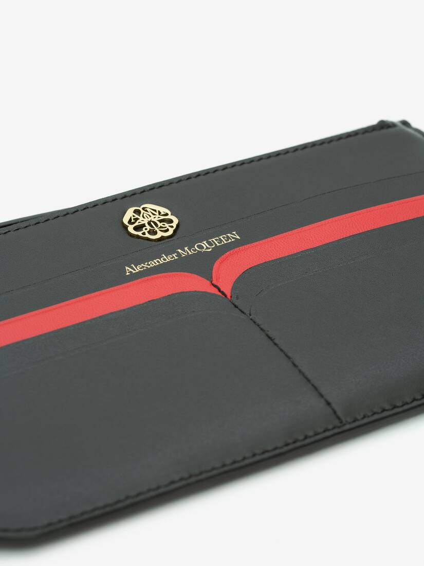 Display a large version of the product image 5 - Signature Flat Zip Wallet