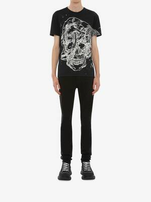 Etched Skull T-Shirt