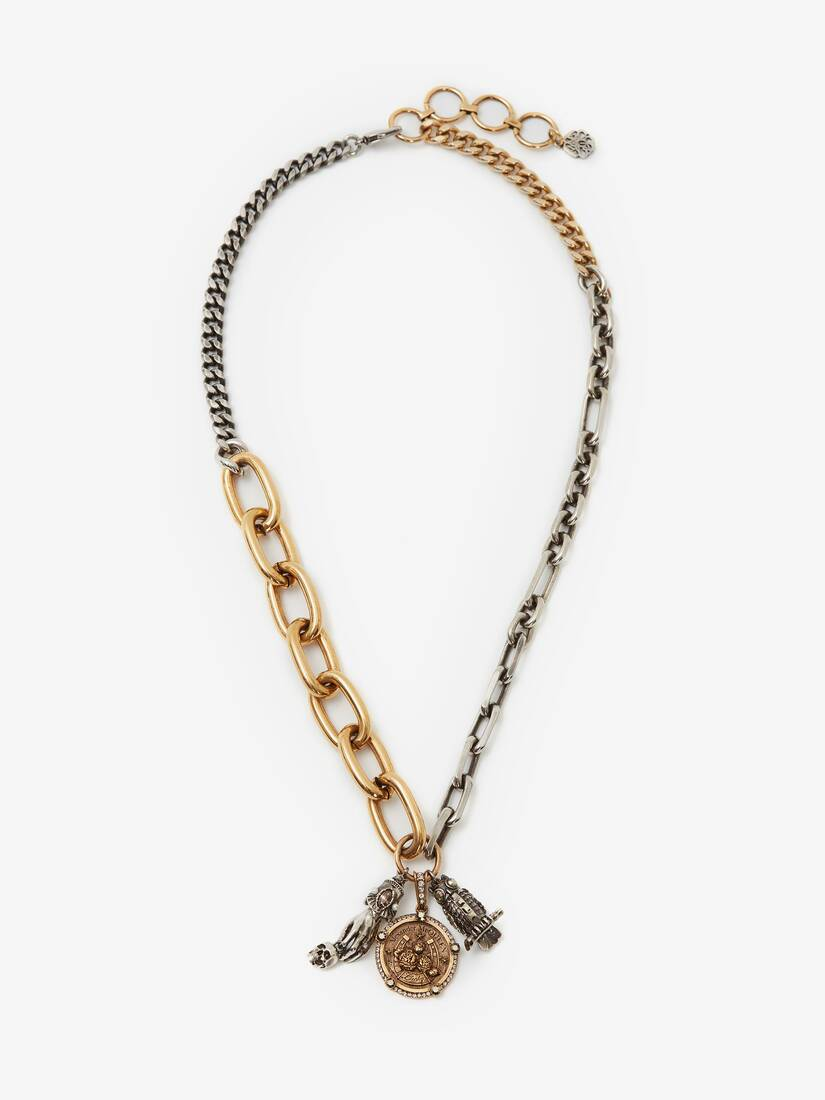 Display a large version of the product image 1 - Charms Long Chain Necklace