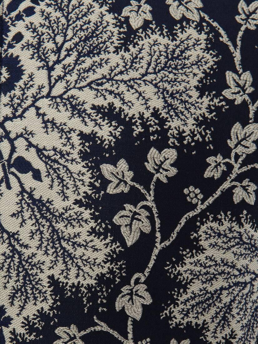 Afficher une grande image du produit 5 - Bomber Ivy Creeper en tissu jacquard