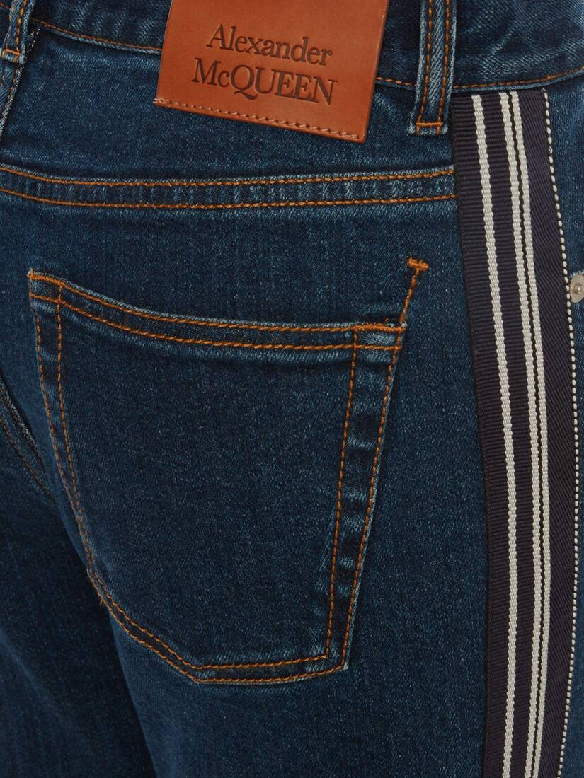 Display a large version of the product image 5 - Fitted Denim Trouser