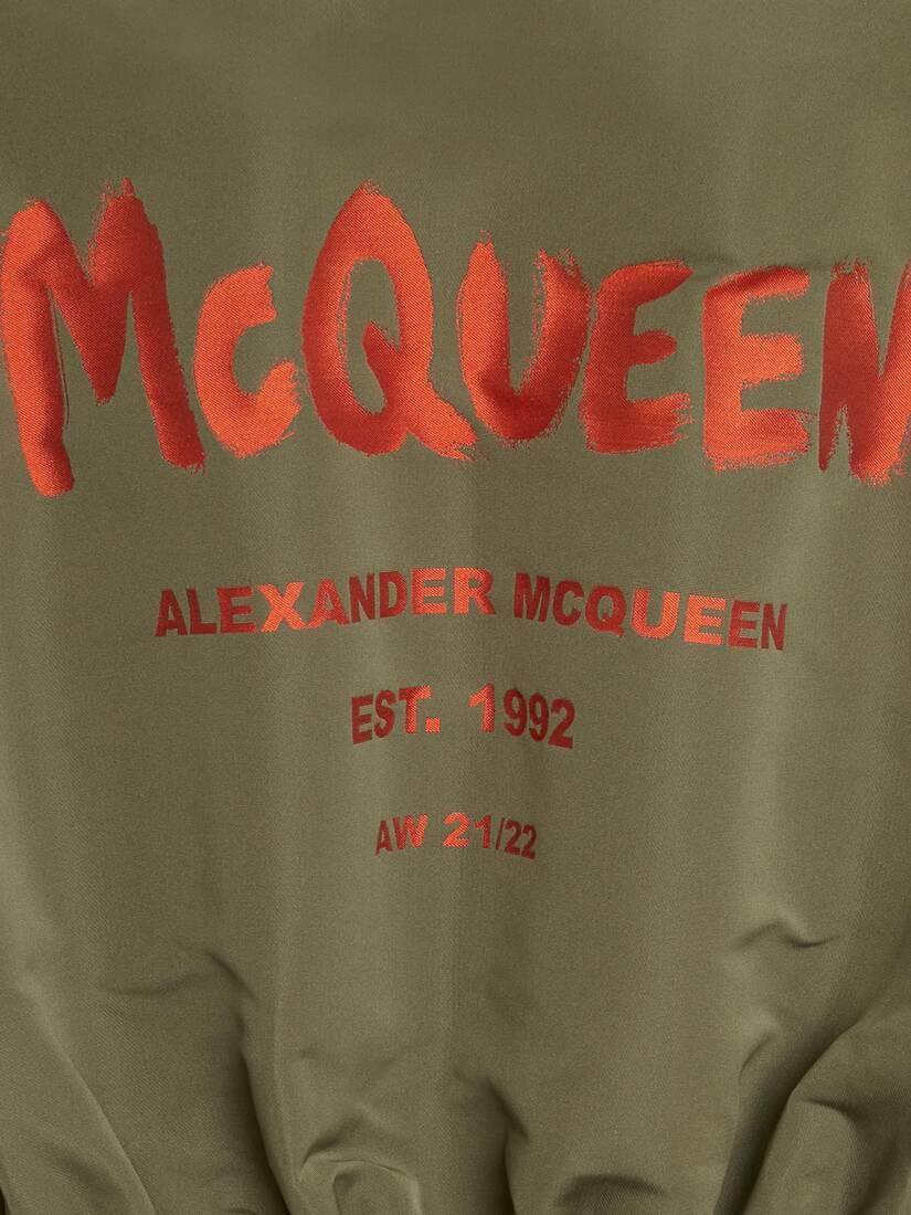 Cappotto Hybrid McQueen Graffiti