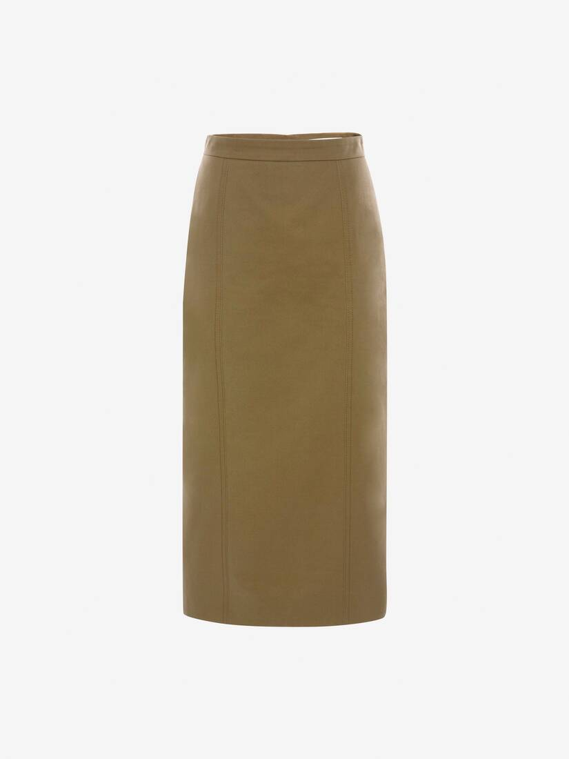Display a large version of the product image 1 - Utility Midi Skirt
