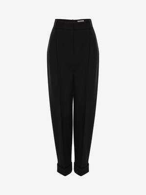 Wool Peg Trouser