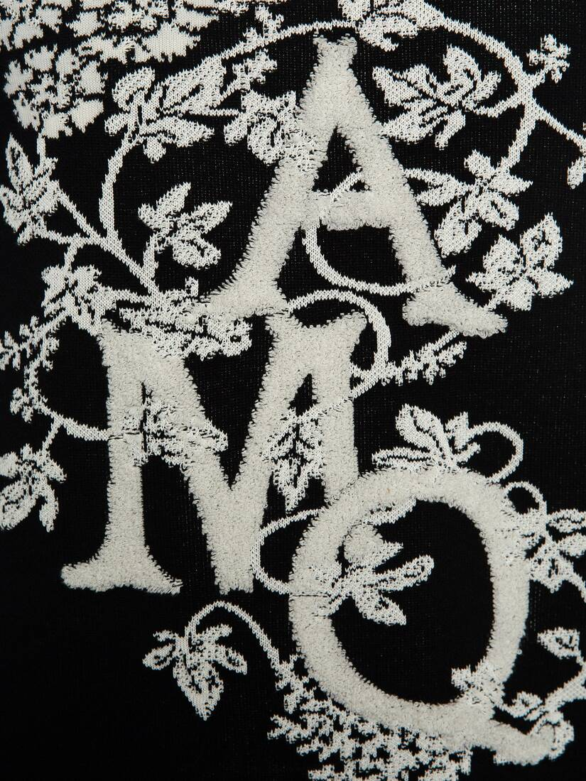 Display a large version of the product image 5 - Ivy Monogram Crew Neck Jumper