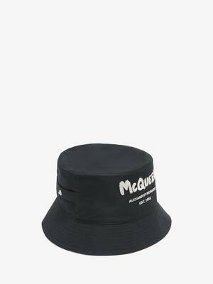 McQueen Graffiti Bucket Hat