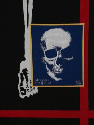 Skeleton Graphic Stole