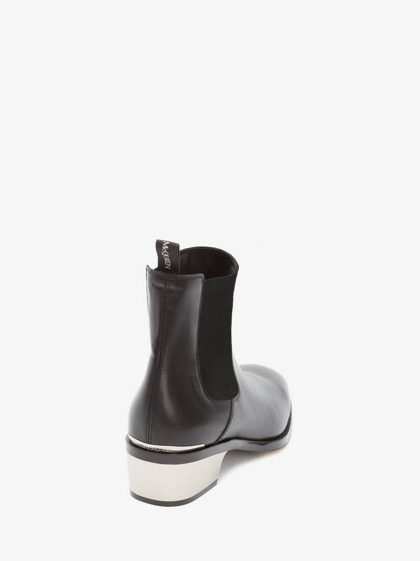Display a large version of the product image 3 - Metal Heel Chelsea Boot