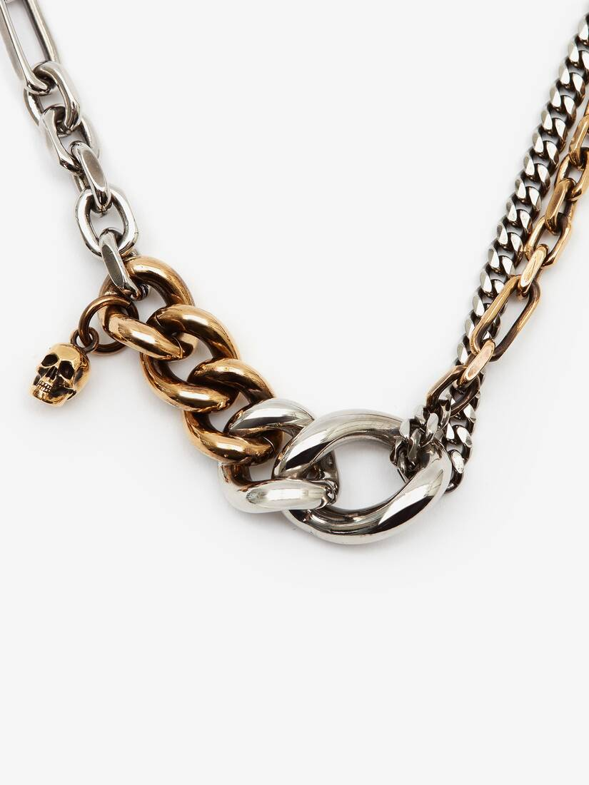 Bi-Colour Chain Choker