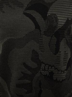 Skull Camouflage Jacquard Jumper