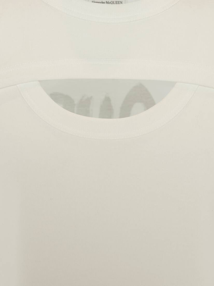 Cut-Out Graffiti T-Shirt
