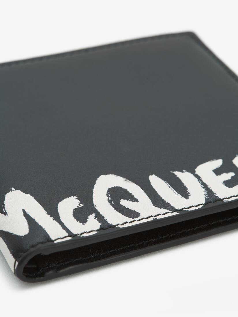 Display a large version of the product image 5 - McQueen Graffiti Billfold Wallet