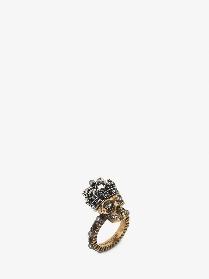 Display a large version of the product image 2 - Queen Skull Ring