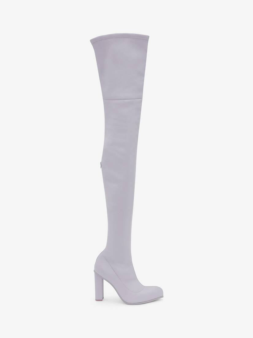 Display a large version of the product image 1 - Thigh-High Peak Boot