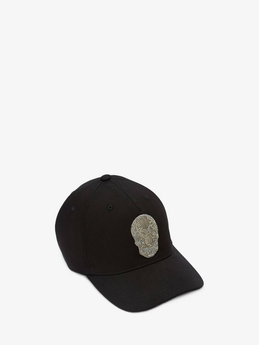 Display a large version of the product image 1 - Skull Baseball Cap
