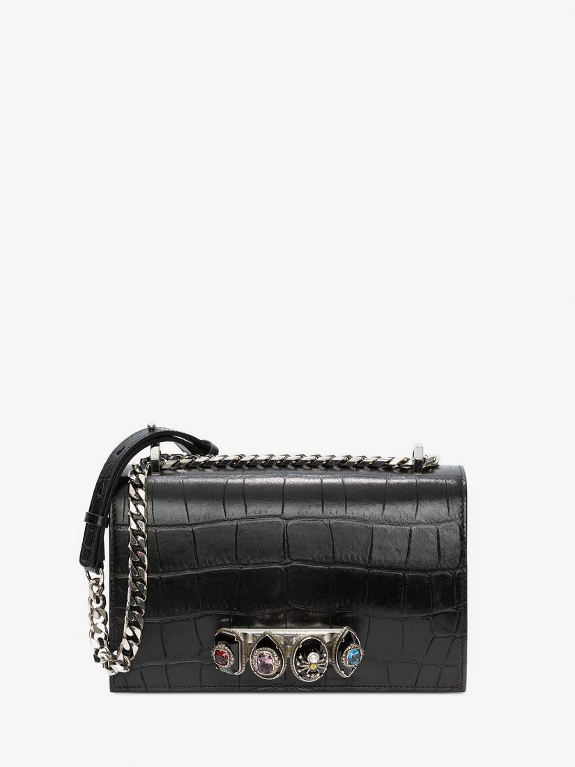 Display a large version of the product image 1 - Spider Jewelled Satchel