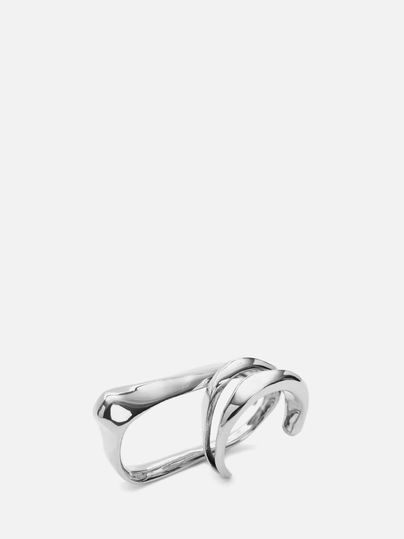 Sculptural Double Ring