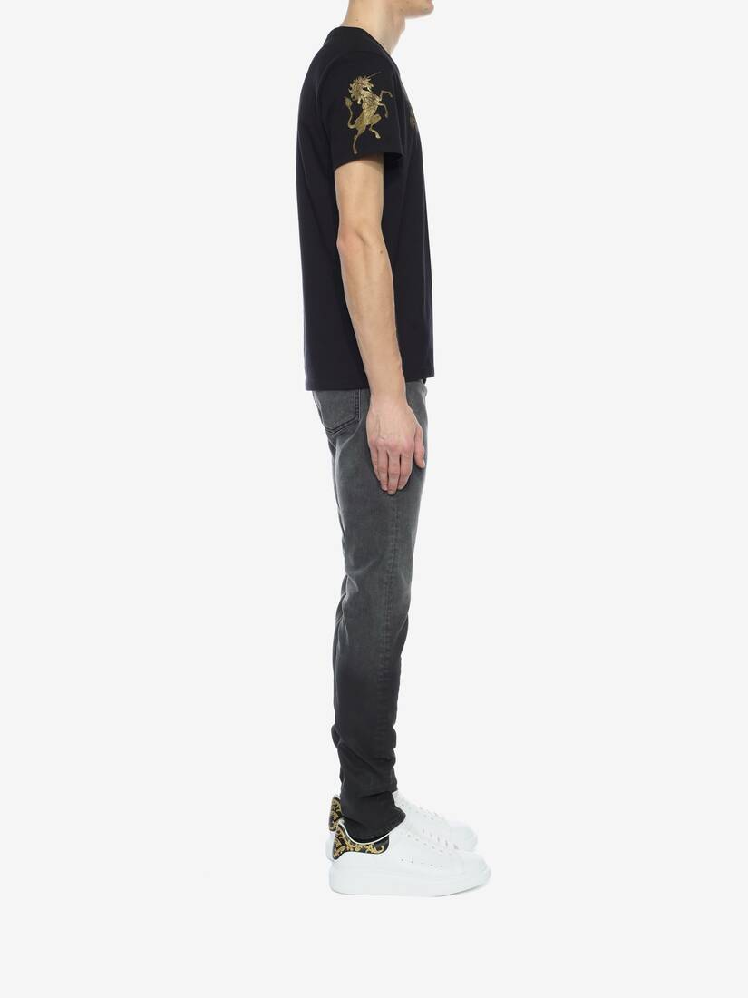 Display a large version of the product image 3 - Black Dégradé Jeans