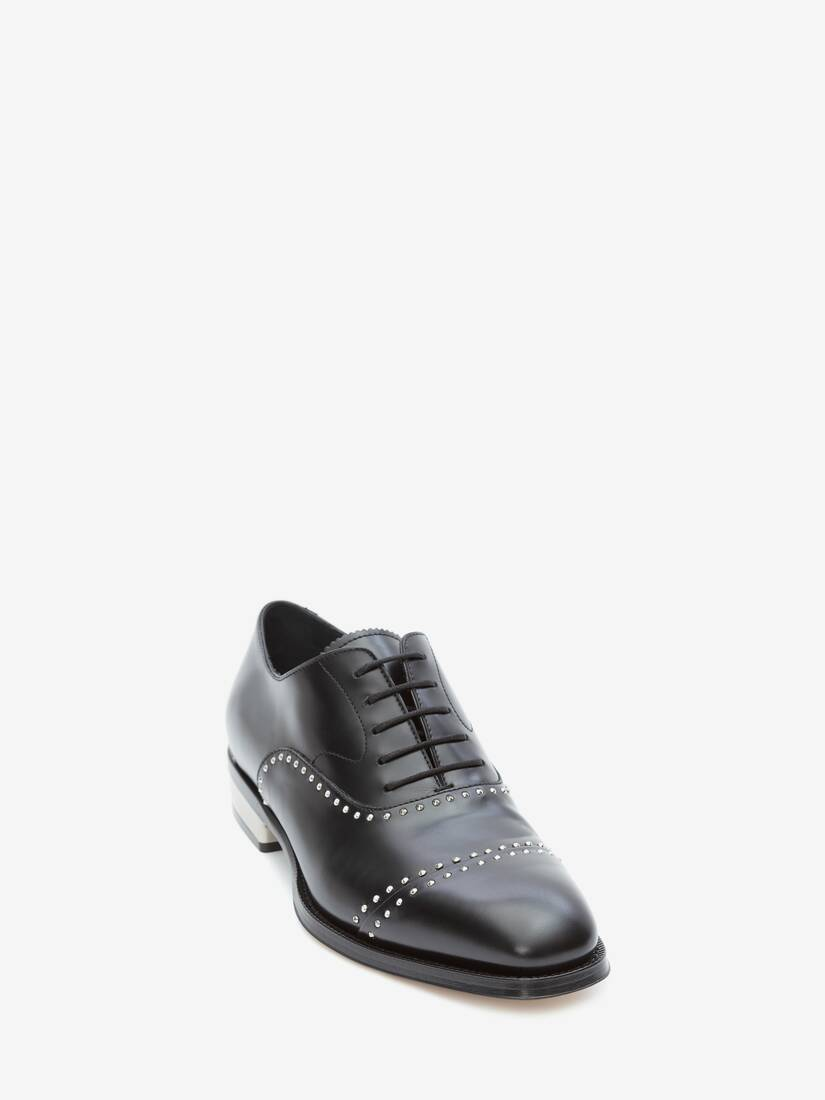 Display a large version of the product image 2 - Metal Heel Oxford Lace-Up