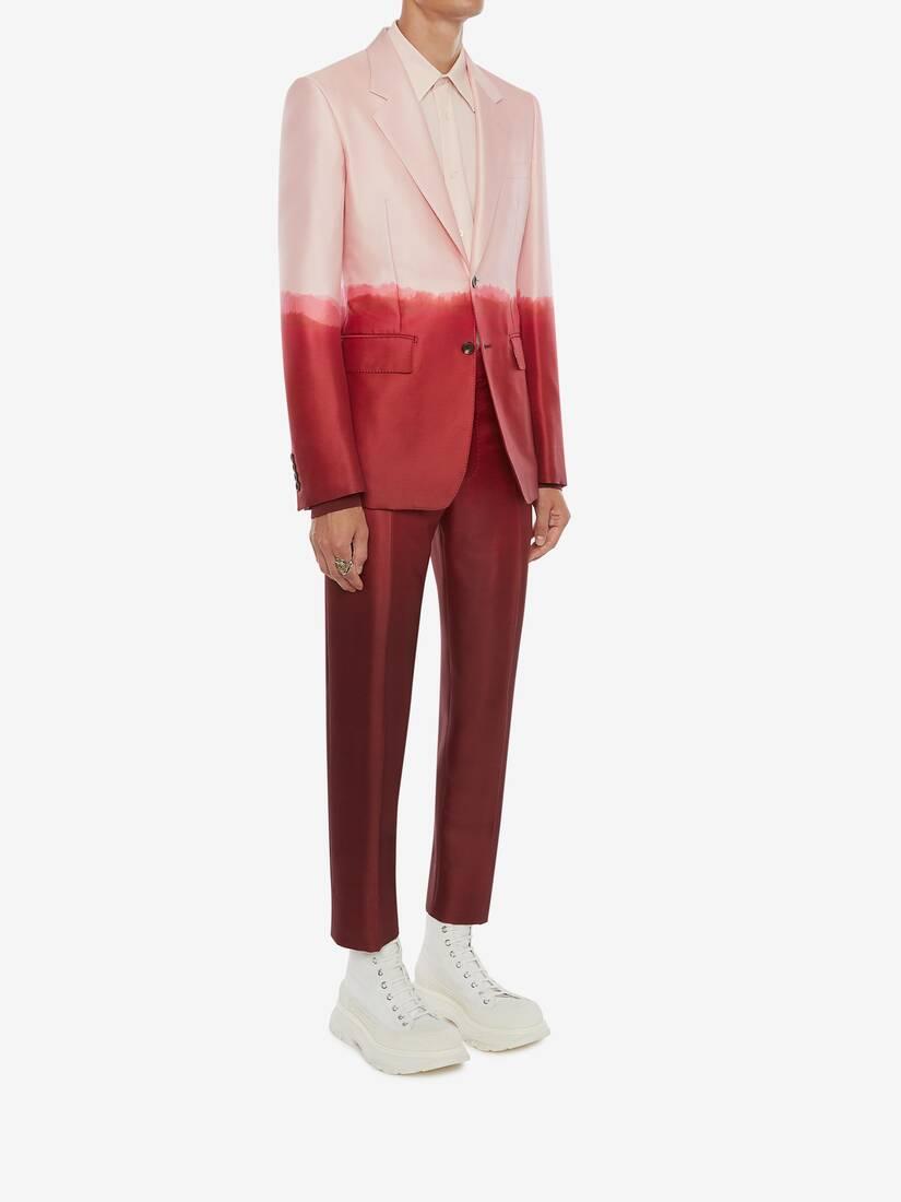 Dip Dye Printed Jacket