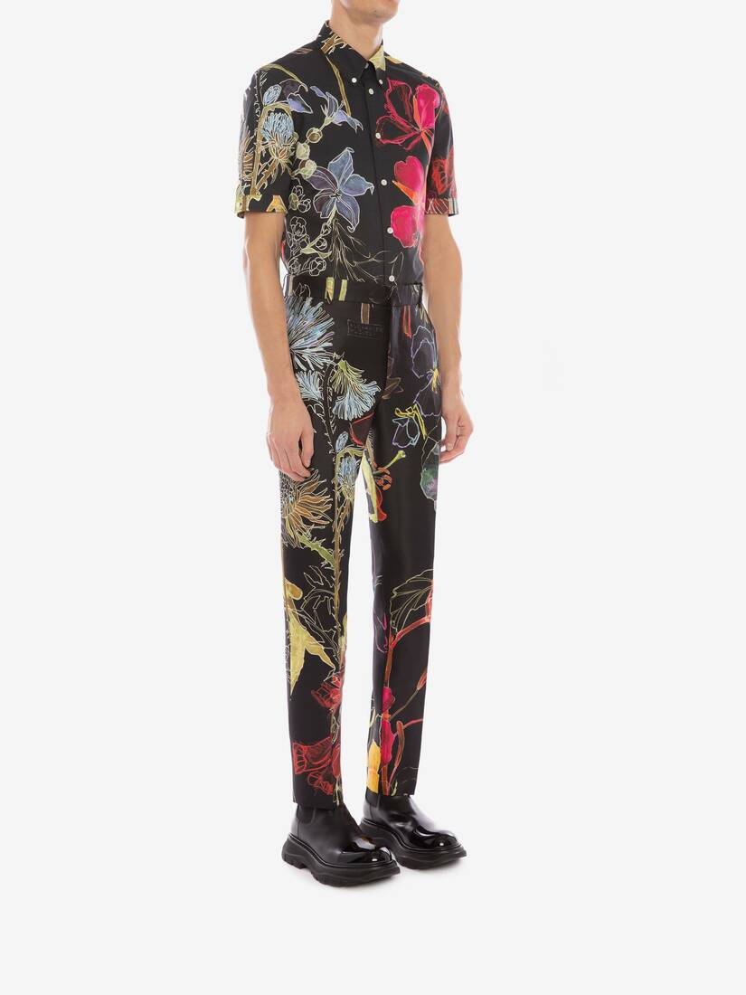 Display a large version of the product image 3 - Deconstructed Floral Shirt