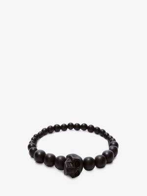 Bracelet skull à perles