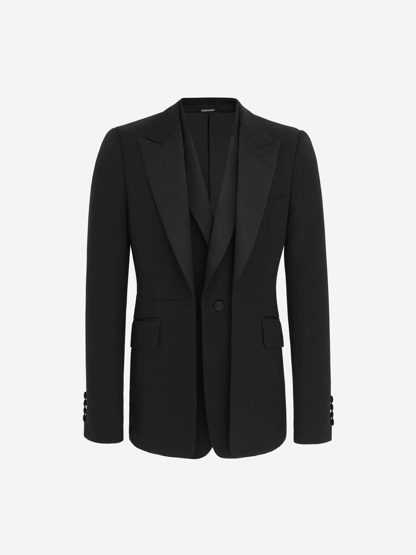 Display a large version of the product image 1 - Double-Lapel Tuxedo Jacket