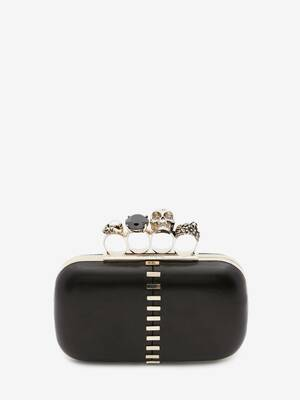 Box Clutch Skull Four-Ring