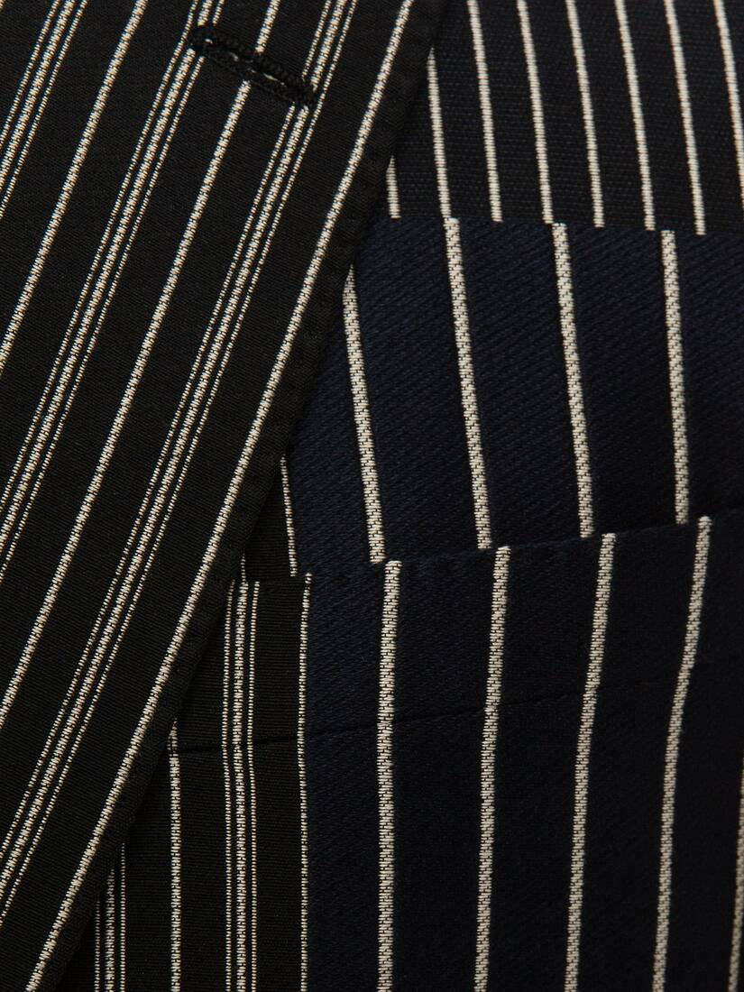 Display a large version of the product image 5 - Patchwork Pinstripe Jacket