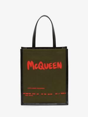 McQueen Graffiti Tote Bag