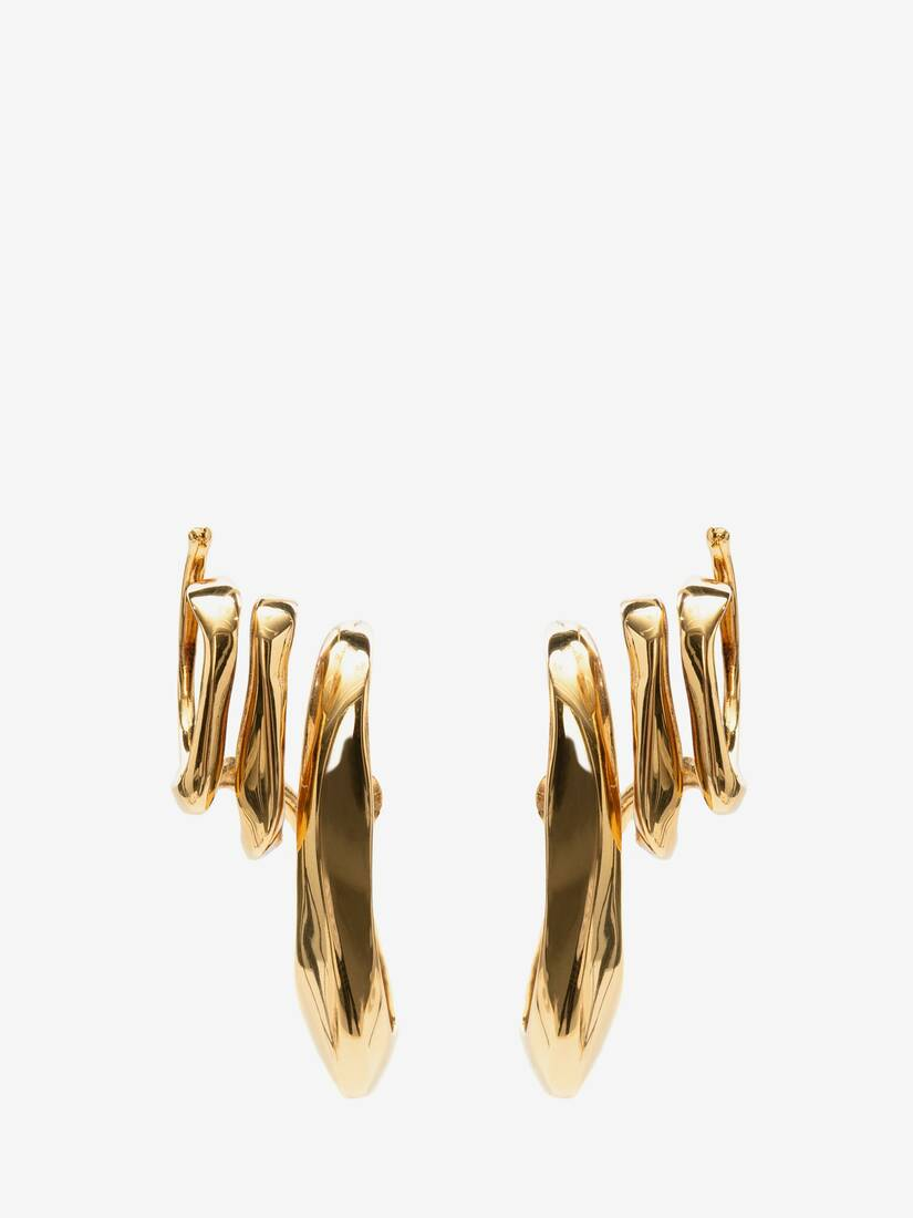 Display a large version of the product image 1 - Triple Ear Cuff Earrings