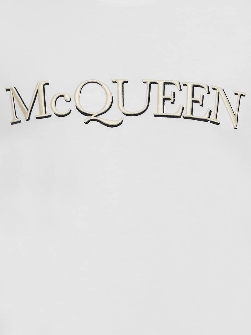 T-Shirt brodé McQueen
