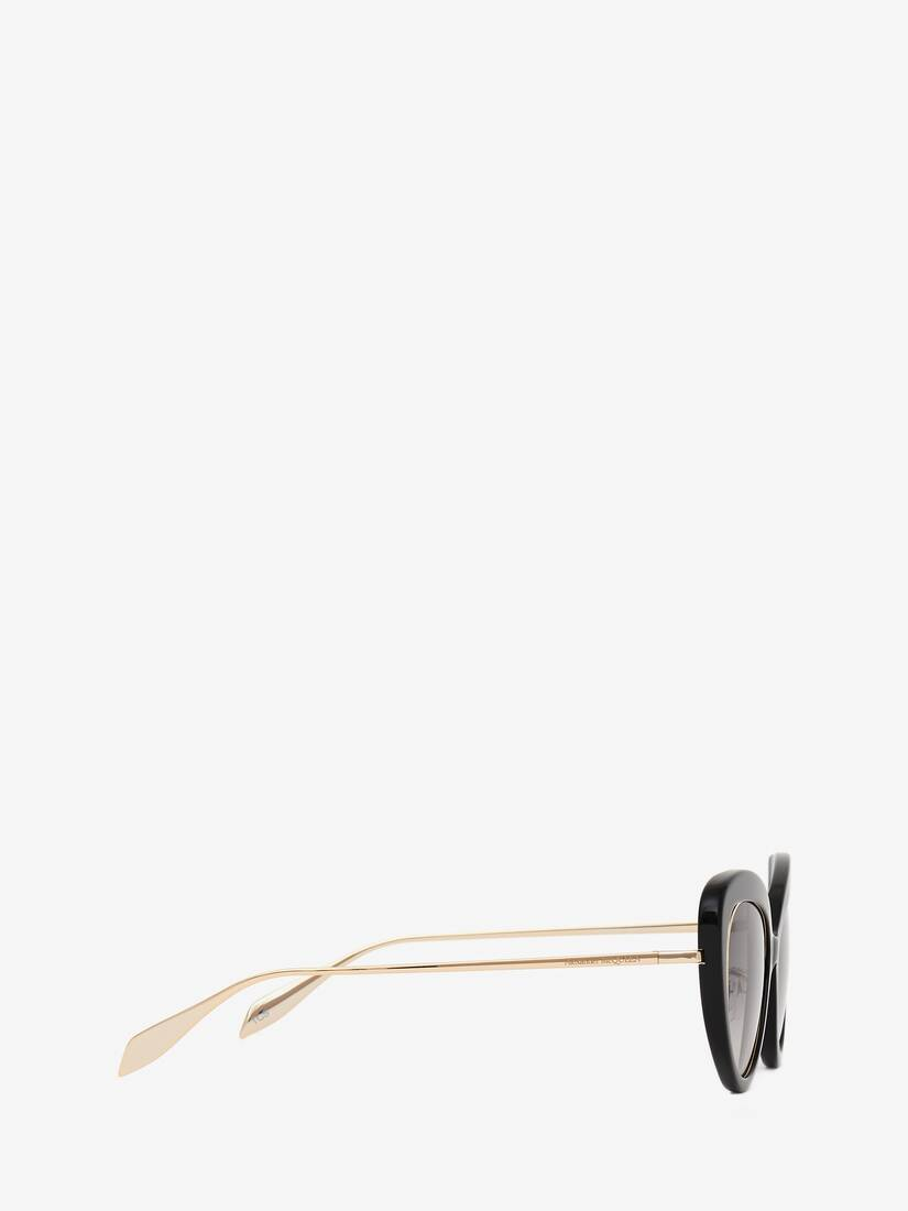 Display a large version of the product image 2 - Open Wire Cat-Eye Sunglasses