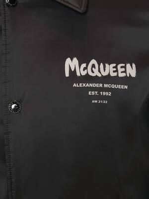McQueen Graffiti Blouson